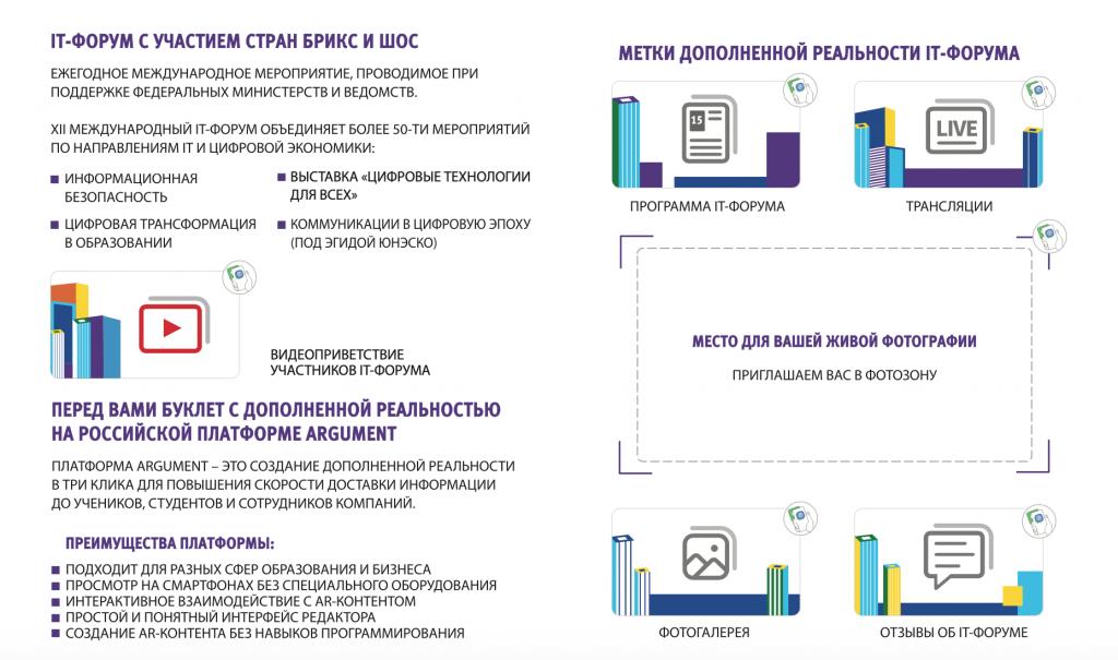Интерактивный буклет для участников IT-форума